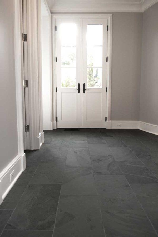 Caithness Ebano Satin Cleft 12x24 Hallway Install 001