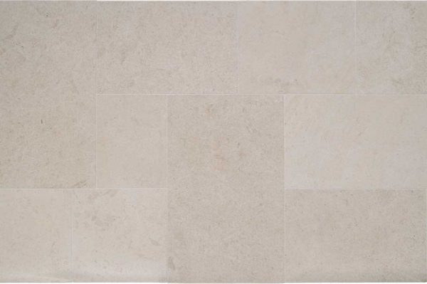 Roche De Amboise Satin Brushed Dye Lot Be19 Versailles Pattern Natural French Stone Field Tile 001