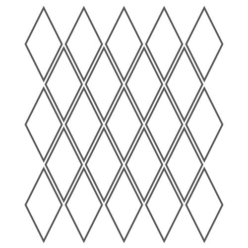 2x4 Rhombus